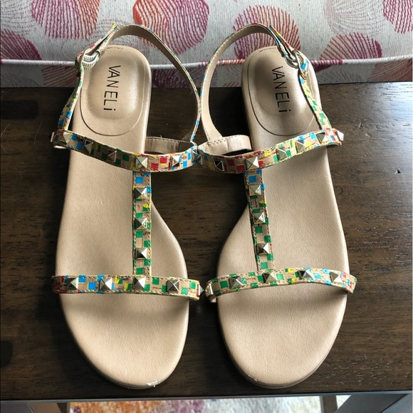 Vaneli Shoes | Sandals Size 7 | Poshmark